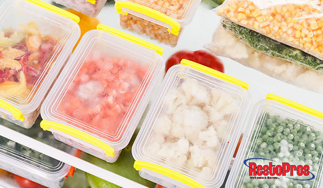 preventing mold from forming on food