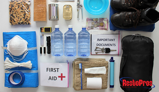 how to prepare for flood or water damage